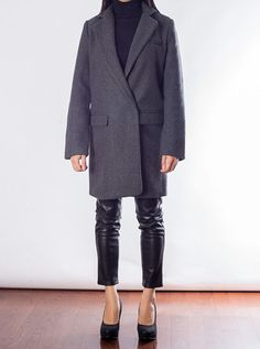 Classic Wool Coat – YANG Boutique Wool Coat, Normcore, Coats, Boutique, Classic, Jackets, Style, Fashion, Down Jackets