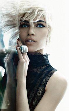 Aline Weber by Emma Summerton for Vogue Italia