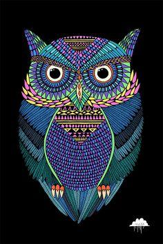Mulga's Zombie Zoo – Michael The Magical Owl   Creaturemag Online Art Magazine