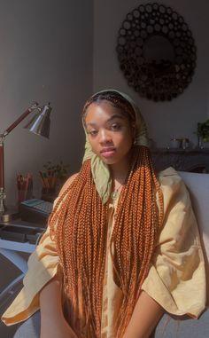 Black Girl Magic, Black Girls, Black Hippy, Colored Braids, Gucci Mane, Black Girl Aesthetic, Beautiful Black Women, Protective Styles, Hippie Style