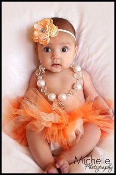 Tutu Newborn Infant Baby Girl Tutu with by OhHoneyBowtique on Etsy, $29.50