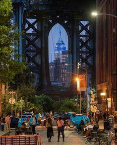 City Aesthetic, Travel Aesthetic, New York Pictures, Manhattan Bridge, New York City Travel, Nyc, Concrete Jungle, Best Cities, Empire State Building