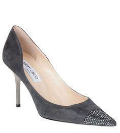 Alias shimmer suede pump Jimmy Choo - Designer Shoes at ShopSavannahs.com