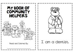 Plumber Coloring Page Worksheets Community helpers and Homeschool