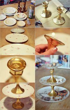 DIY Jewelry Display | Can Can Dancer