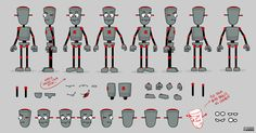 Flash Animation Characters Download robot smart magnet