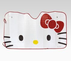 Hello Kitty Car Sun Shade: Red Bow Wed: Fave Bow Pic #SephoraHelloKitty
