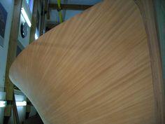 20. PERLITA TOO.Voila.... a single mahogany plank.