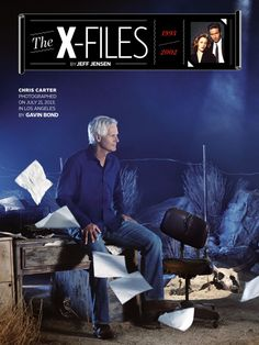 Chris Carter en Entertainment Weekly Magazine