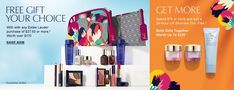 Shop and Lord & Taylor and get complimentary Estee Lauder gifts
