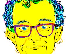 """Check out new work on my @Behance portfolio: """"Keith Haring"""" http://on.be.net/1O9br03"""