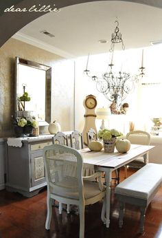 Dining Room Bench Tutorial by Dear Lillie