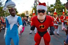 Entertainment during Disney's Festival of Holidays. #disney