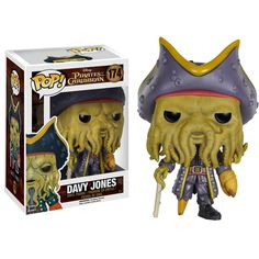 Funko Disney Pirates Of The Caribbean POP Davy Jones Vinyl Figure