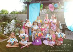 Night Owl Birthday Party. so many cute ideas~ I'm gonna copy them ALL!