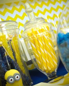 Despicable Me Minion Themed Birthday Party {Cake, Decor, Ideas, Games}