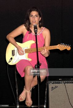 Amy Winehouse at the Mobo Awards Nominations 2003 At Tantra Nightclub... News Photo   Getty Images