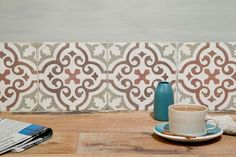 The caramel and coffee tones in our antique tiles are a lovely taste of Spanish lazy hazy days and make a wonderful splashback of accent colour to your kitchen. Spanish Colors, Spanish Tile, Room Tiles, Wall Tiles, Vinyl Flooring Uk, Kitchen Splashback Tiles, Tiles Uk, Lime Paint, Unique Tile