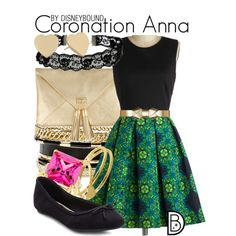 Disney Bound - Coronation Anna
