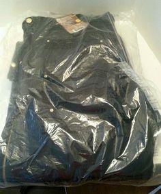 Carhartt Zip Bib Overalls Lined Quilt Midweight R41 Black 40X30 New  #Carhartt