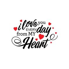 Text Type Typography Valentine Valentines February Font Gift