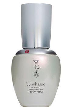 Sulwhasoo 'Snowise EX' Brightening Serum. SerumRadiant SkinExhaustedSkincareThe  HeatBeauty ProductsNordstromTreats