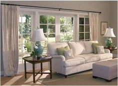 Valances For Windows Living Rooms Pottery Barn