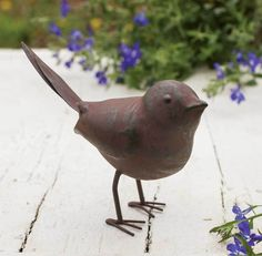SET OF 4 Colonial Tin Works Rustic Metal Songbird Song Bird Statue Figurine for sale online Primitive Homes, Country Primitive, Colonial, Metal Songs, Rusted Metal, Metal Art, Bird Statues, Metal Birds, Metal Candle Holders
