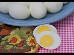 The best hard boiled eggs... great instructions