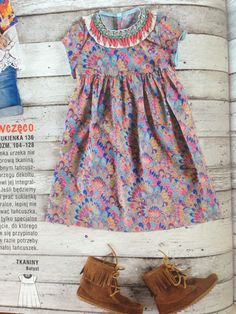 Little boho dress /  Burda PL nr 8/2015