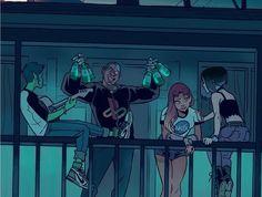 Artist Take on Modern Teen Titans[Credit: Gabriel Picolo @_picolo via Instagram]