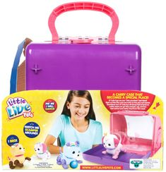 Little Live Pets Series 1 Lil' Cutie Ruby Pup Playset
