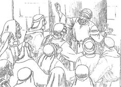 Meanwhile, the crowds were waiting outside for Zechariah to appear and they began to wonder why he was staying in the sanctuary for so long. Finally he came out, but was unable to speak to them.