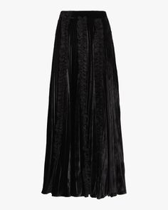 This elegant silk-blend skirt features a midi length and a pleated design for a classic look. rayon silk Lining: acrylic silk Delicate dry clean only Made in Italy Frill Skirts, Midi Length Skirts, Chiffon Skirt, Pleated Skirt, Midi Skirt, Sequin Skirt, Christopher Kane, Classic Looks, Velvet