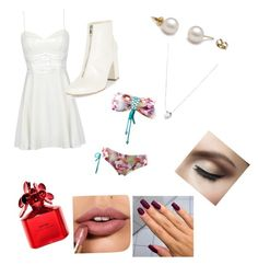 """""""My ideal wedding 2"""" by danielamartinez0099 on Polyvore featuring New Look, Links of London and Marc Jacobs"""