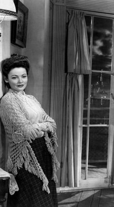 the ghost and mrs. muir movie with gene tierney | THE GHOST AND MRS MUIR (1947)
