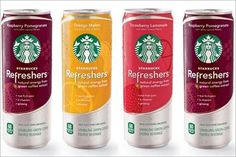 Starbucks is making a foray into energy drinks with a low calorie fruit juice containing green coffee extract.