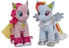 Omg!!!!!! i want one!!!! Build-A-Bear adds My Little Ponies. Aren't they precious? They're almost sold out so you better hurry! I hope we get the other characters. I want Fluttershy.