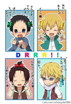this is too much durarara....ah, whatever its cute