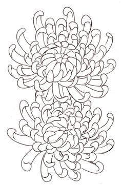Garden Flowers - Annuals Or Perennials Chrysanthemum Flower Tattoo 14 By Metacharis On Deviantart Art Floral, Floral Drawing, Chrysanthemum Drawing, Chrysanthemum Flower, Japanese Flowers, Japanese Art, Crysanthemum Tattoo, Crisantemo Tattoo, Tattoo Drawings