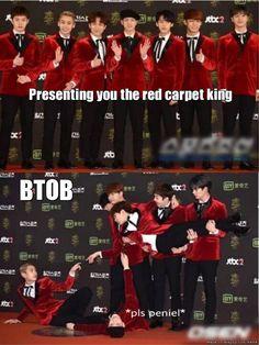the red carpet kings are back~ | allkpop Meme Center