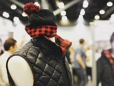 Hey, mannequins have feelings too! Check out our red plaid squirrel toque, made in Montreal, Canada!