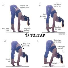 """293 Likes, 4 Comments - Y.T (@yoga.tutorials) on Instagram: """"@pinkchampagne13 on Toe Tapping ・・・ The trick to #toetap is... nailing your basics! Yes, you read…"""""""
