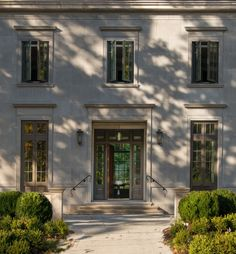 classic limestone architecture new construction exterior front washington dc