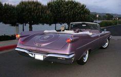 1960 Imperial Crown convertible… in Dusk Mauve Mopar Monday Classic Motors, Classic Cars, Vintage Cars, Antique Cars, Convertible, Classic Car Restoration, Imperial Crown, Chrysler Imperial, Dodge Chrysler
