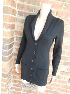 Exclusively MISOOK Cardigan Size M Medium Women One Button Sweater ...