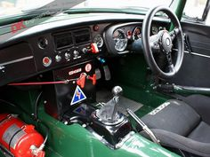 MGB FIA Roadster. Period Race History