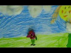 Мультфильм, сделанный учеником второго класса за два занятия.