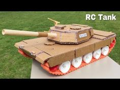 How to Make a Tank (Simple Electric Tank) - Amazing Toy - Tutorial - YouTube