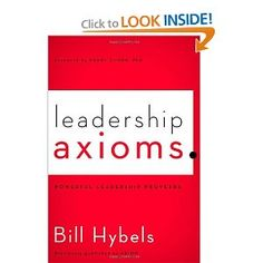 Leadership Axioms: Powerful Leadership Proverbs.  Just finished. Amazing concepts to live by.  Nourishing book to read.